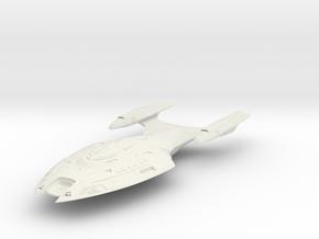 Hornet Class  BattleDestroyer in White Natural Versatile Plastic