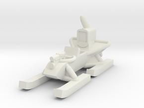 RF-8 Aerosani (Global War scale) x1 in White Natural Versatile Plastic