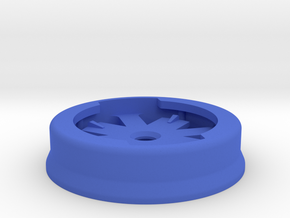 Garmin Eighth-Turn Socket Flat Mount in Blue Processed Versatile Plastic: Small