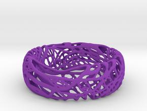 Peaceluvband in Purple Processed Versatile Plastic