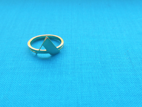 Arden Ring in Polished Brass