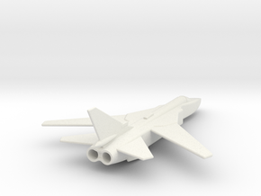Su24 Fencer 1/285 Scale (corrected) in White Natural Versatile Plastic