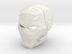 Deathstroke - TheTerminator 2 eyed helmet  in White Natural Versatile Plastic