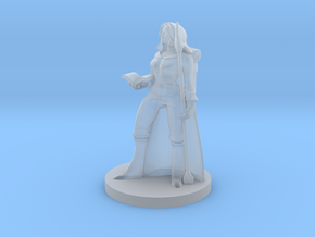 Female Human Wizard in Smooth Fine Detail Plastic