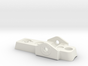 ROTJ E-11 Scope Rail Front Sight in White Natural Versatile Plastic