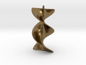 Elegant Z-DNA in Natural Bronze