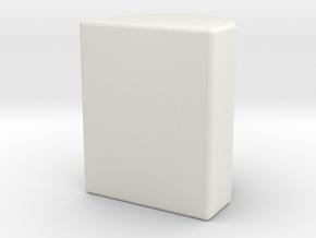AEG 3mm Nub in White Natural Versatile Plastic