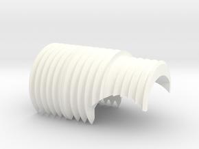 """DENIX"" TFA heat sink grille  in White Processed Versatile Plastic"