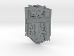 Judge Dredd Variant Badge Blank in Polished Metallic Plastic