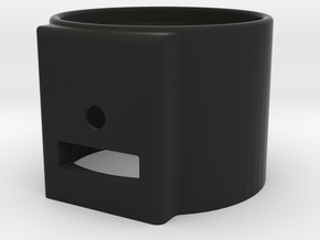 52mm Single Enclosed Gauge Pod in Black Strong & Flexible