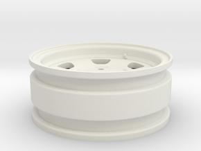 Toyota FJ40 1.55 (RC4WD hubs) in White Natural Versatile Plastic