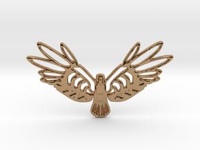Golden Bird in Polished Brass