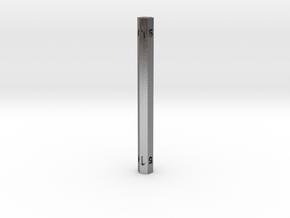 Quarterstaff D6 in Natural Silver