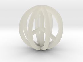 World Peace Pendant $15-$100 in Transparent Acrylic