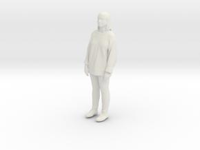 Printle C Femme 199 - 1/43 - wob in White Natural Versatile Plastic