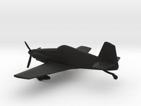 Mustang Aeronautics Midget Mustang in Black Natural Versatile Plastic: 1:72