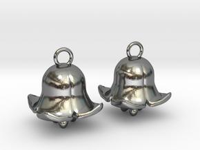 Belling in Polished Silver (Interlocking Parts): Medium