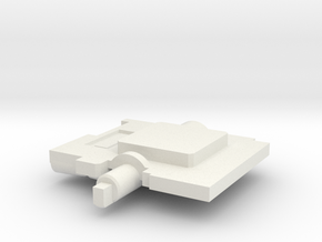 Neck Adaptor For GDO Hotspot - Rotating in White Natural Versatile Plastic