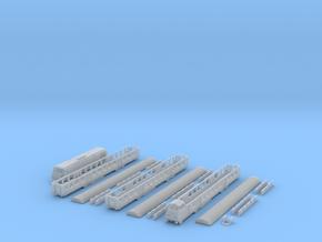FS Treno Regionale in Smooth Fine Detail Plastic