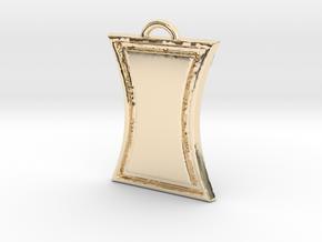 Black Widow in 14k Gold Plated Brass