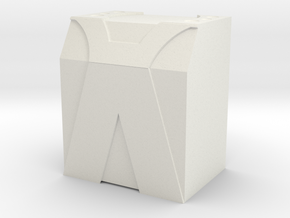 Venom Engineering Fuel Cell Box ( UCFab PRT ) in White Natural Versatile Plastic