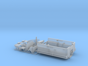 M5 Halftrack conversion with M5A1 Lights in Smooth Fine Detail Plastic