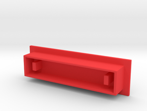 Mavic Pro battery terminal protector in Red Processed Versatile Plastic