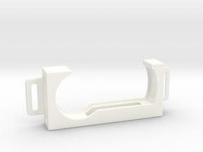 RSA Token Badge Holder 2-Tab in White Processed Versatile Plastic