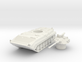 Bmp-1 tank (Russian) 1/144 in White Natural Versatile Plastic