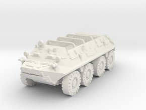 Btr 60 Open Vehicle 1/87 in White Natural Versatile Plastic