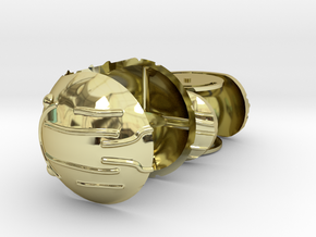 Harry's First Snitch Ring Box-Pt.1-Body-Original in 18k Gold Plated