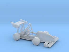 CMU Racing 16e Electric Race Car in Smooth Fine Detail Plastic
