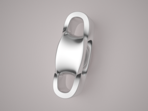 Triple Cube Silver 100 in Polished Silver