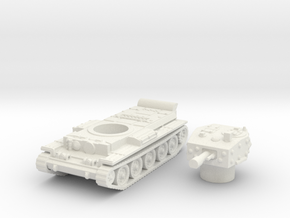 Centaur IV Tank (British) power 1/144 in White Natural Versatile Plastic