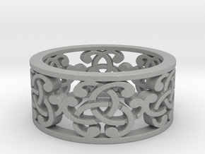 Celtic Knot Ring in Aluminum