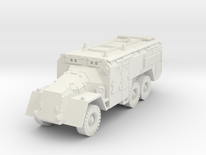 AEC Armoured Command Vehicle (British) 1/87 in White Strong & Flexible