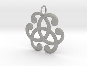 Health Harmony Therapy Celtic Knot in Aluminum: Medium