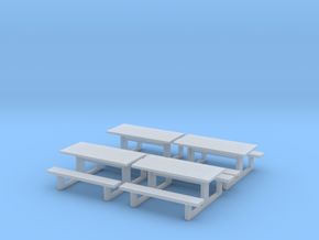 TJ-H01142x4 - Tables en béton in Smooth Fine Detail Plastic