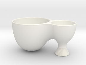Maya Pasta Bowl in Gloss White Porcelain