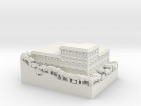 Woodland Mansion in White Natural Versatile Plastic