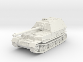 Elefant tank (Germany) 1/100 in White Strong & Flexible