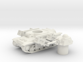 Hotchkiss tank-rockets (French) 1/100 in White Natural Versatile Plastic