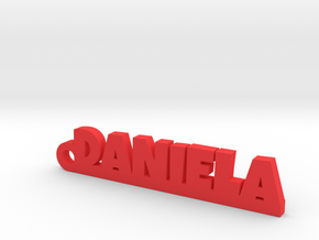 DANIELA Keychain Lucky in Red Processed Versatile Plastic