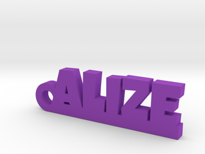 ALIZE Keychain Lucky in Purple Strong & Flexible Polished