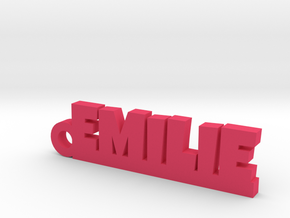 EMILIE Keychain Lucky in Pink Processed Versatile Plastic