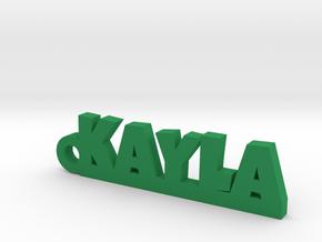 KAYLA Keychain Lucky in Natural Brass