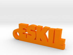 ESKIL Keychain Lucky in Orange Processed Versatile Plastic
