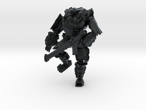 Combat Walker, 15mm Scale, Unbased in Black Hi-Def Acrylate