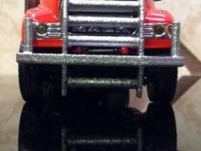 1/64 scale Industrial Bumper  in White Acrylic