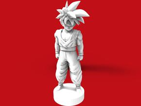 Son Goku dragon ball (base) in Smooth Fine Detail Plastic